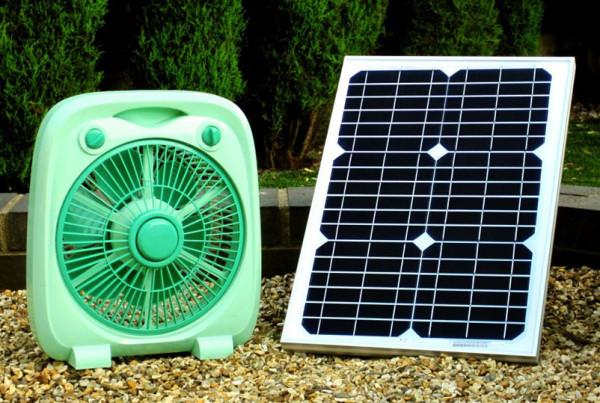 Solar Powered Fan