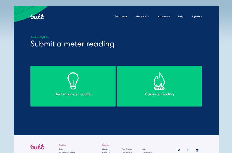 meter reading - Bulb review